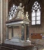 Tombeau sépulture de Louis XI à Cléry