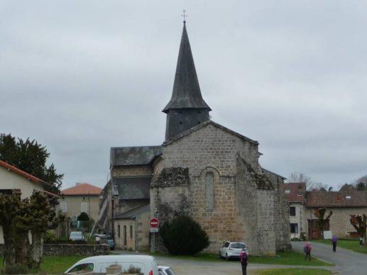 Eglise de Razès 1