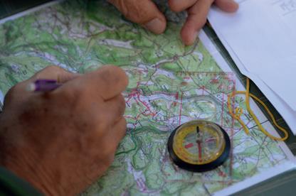 Réussir sa randonnée la carte