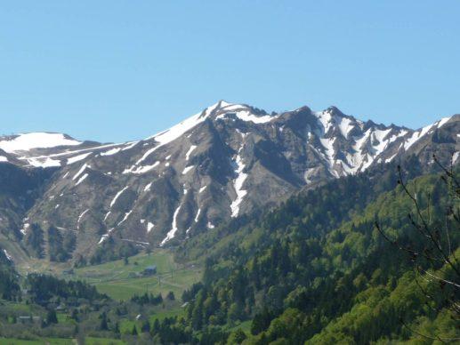 Le Puy de Sancy 1886 m