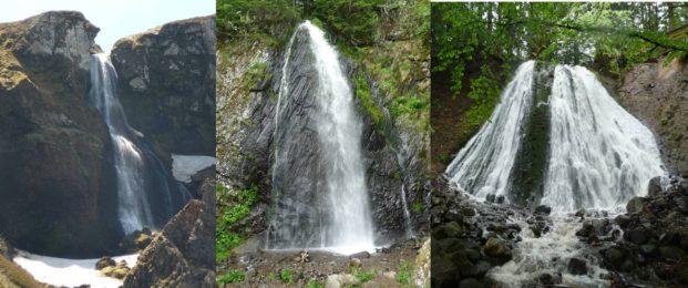 Les cascades des Mont-Dore